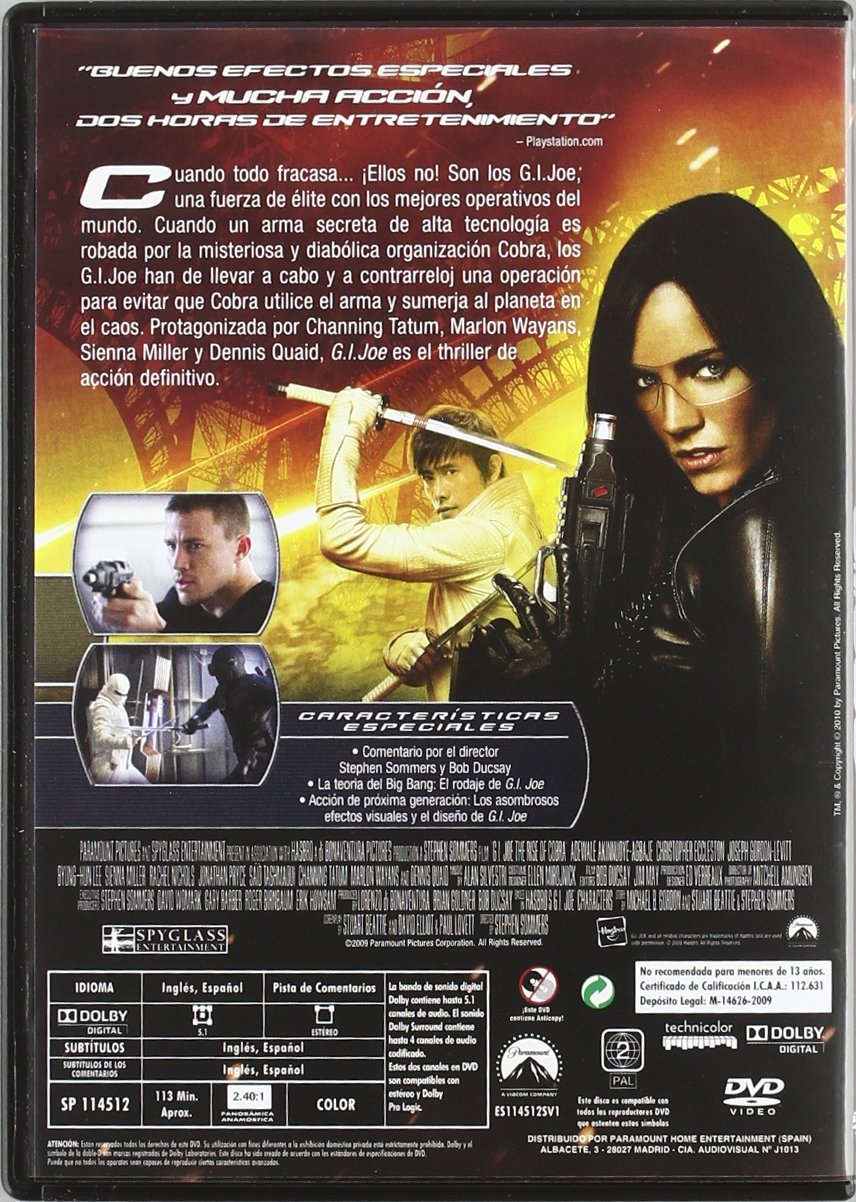 Amazon.com: Pack Bang! (5 Títulos: Watchmen + G.I. Joe + Star Trek (2009: Movies & TV