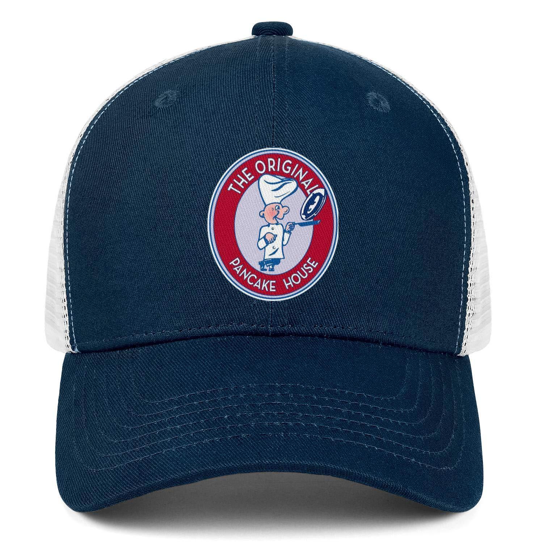 WintyHC The Original Pancake House-Logo Cowboy Hat Trucker Hat Adjustable Fits Skull Cap