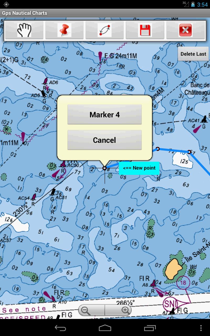 Marine navigation usa lake depth maps gps nautical for Fishing gps apps