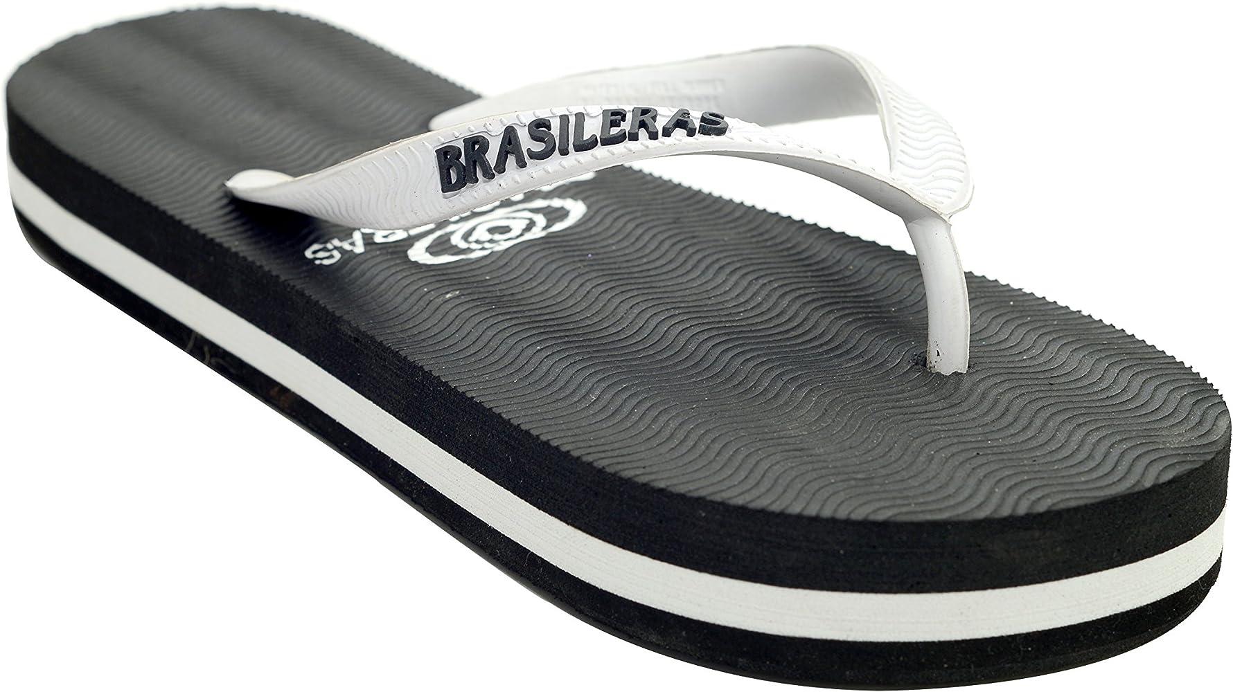 Brasileras Flip Flop Sandalia Plataforma Pequeño Blanco 9 10 B M Us Shoes