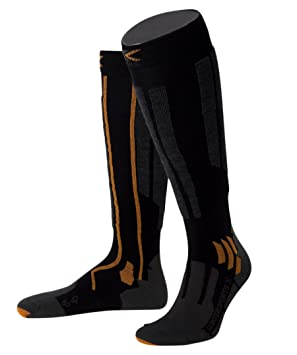 X-BIONIC WINTERSPORT X - Calcetines, color negro/antracita, color - Negro