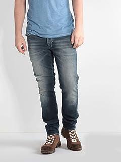 91a50a94a 883 Police - Jeans - Homme Délavé Clair - - 32W x 34L: Amazon.fr ...