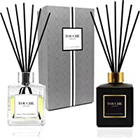 Luxury Natural Essential Oil Reed Diffuser. Long Lasting Scented Fragrance - 90 Days. Office & Home Aromatherapy. Glass…