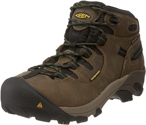 4b98f073f06 KEEN Utility Men's Detroit Mid Steel Toe Work Boot
