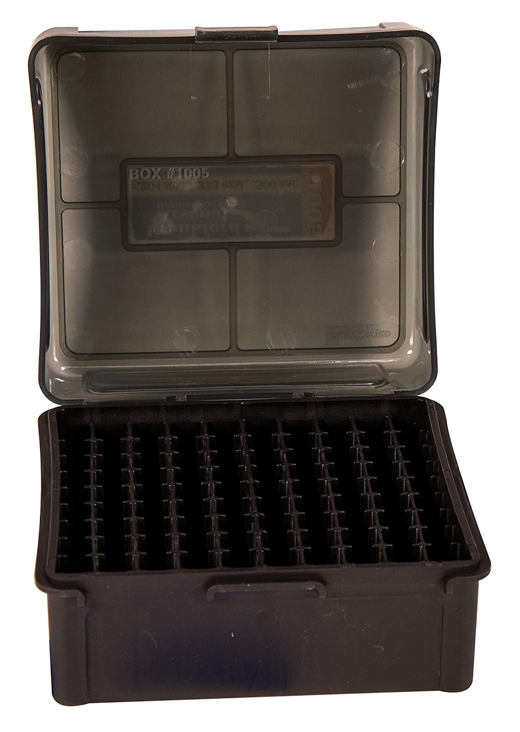 1005 100 Ct Frankford Arsenal Hinge-Top Ammo Box 100Count