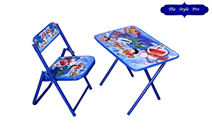 Miraculous Buy Foldable Table Chair Kids Study Table Chair Online At Creativecarmelina Interior Chair Design Creativecarmelinacom