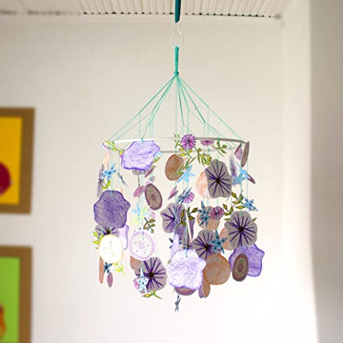 Flower Baby Mobile For Cribs Mobile For Baby Nursery Mobile Crib Mobiles For