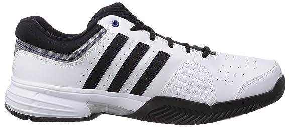 adidas Match Classic, Tennis Homme - Blanc (FTWR White/Core Black/Amazon Purple F14), 47.33 EU