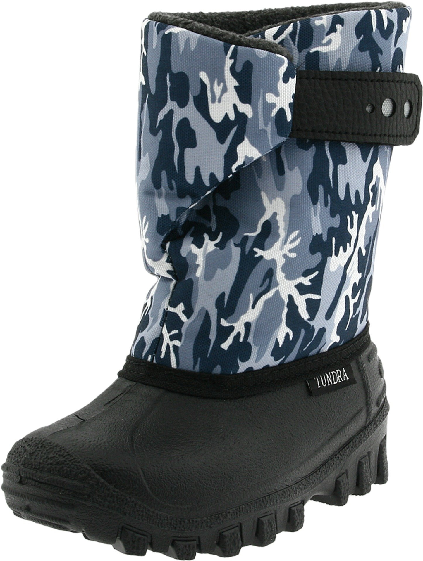 Tundra Teddy 4 Boot (Toddler/Little Kid),Black/Grey Camo,10 M US Toddler