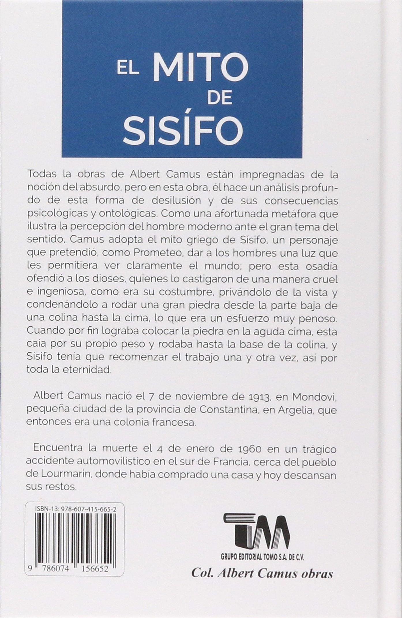 Amazon.com: Mito de Sisifo, El (English and Spanish Edition ...