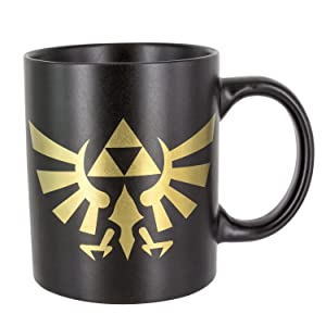 Paladone The Legend of Zelda Hyrule Ceramic Coffee Mug - Collectors Edition