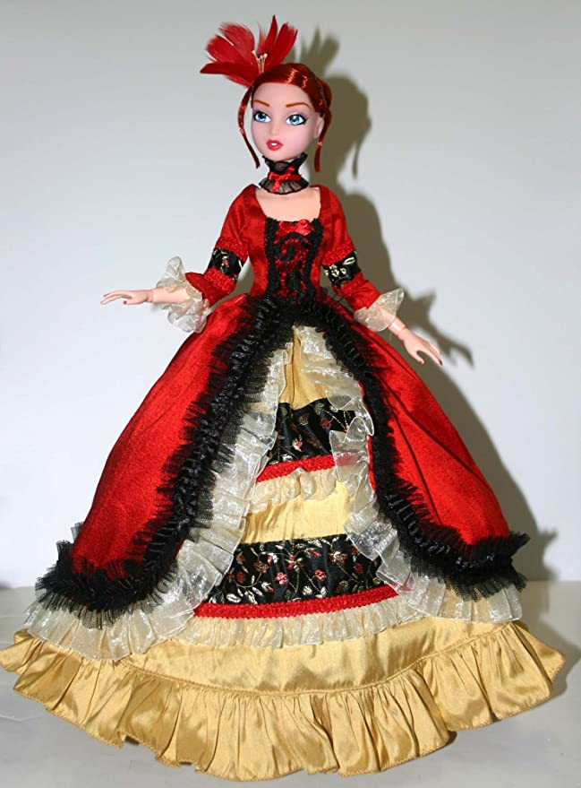 """Opulent Doll Clothes Sewing Pattern for 15.75/"""" City Girl Dolls Tonner"""