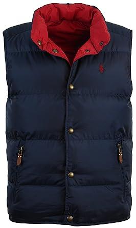 Mens Gilet Lauren Puffer Down Bodywarmer Size Large Vest Coat Ralph fvYgby76