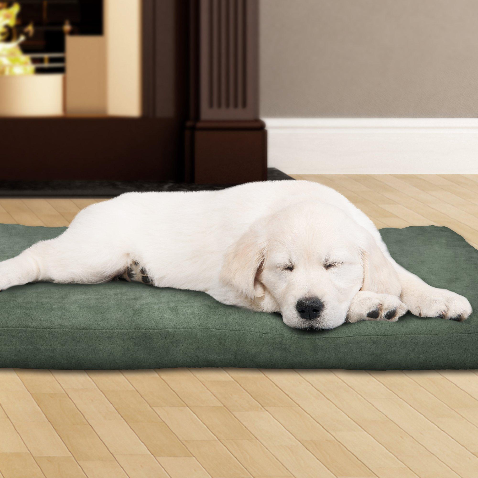 PETMAKER 80-PET4008 3'' Foam Pet Bed 35 x 44, Forest Tan