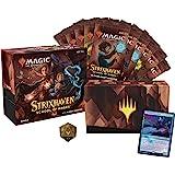 Magic: The Gathering Strixhaven Pacote | 10 boosters de draft (150 cards de Magic) + acessórios - Inglês