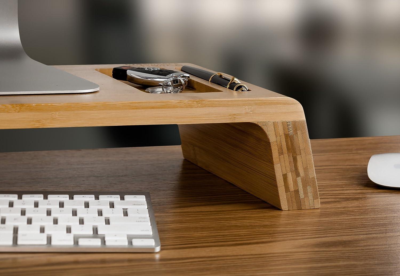 Prosumers Choice Natural Bamboo iMac Monitor Stand Amazoncouk
