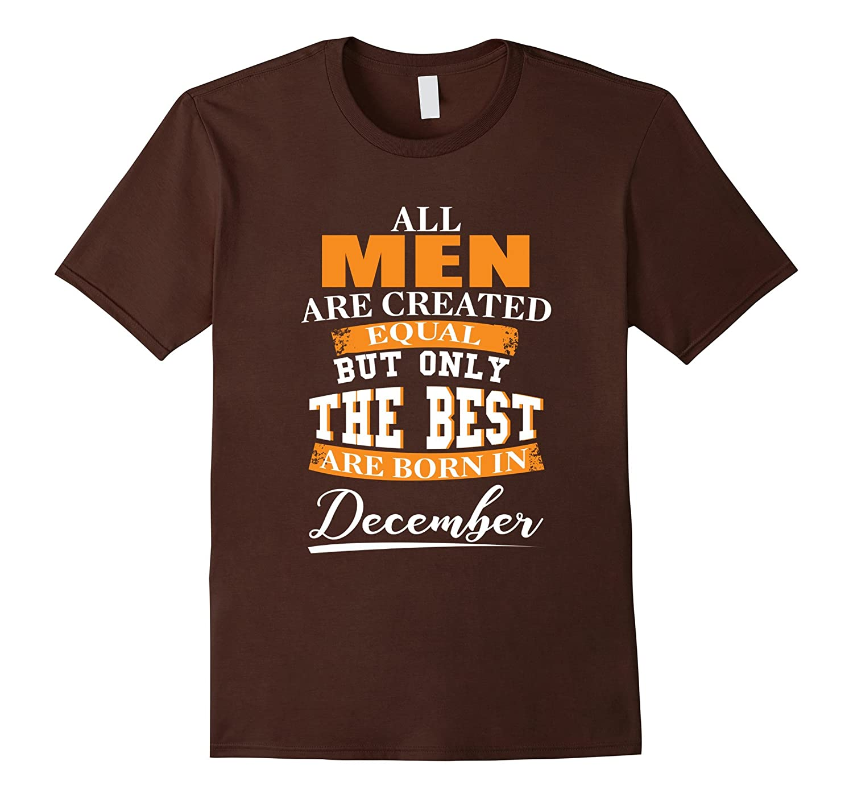 created December Birthday Tshirt Heather-Veotee