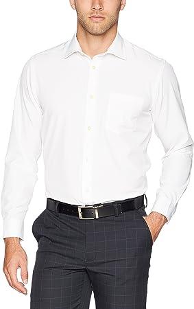 GREG NORMAN L/S Solid Sport Camisa de Manga Larga para Hombre, L/s Solid Sport Camisa, Hombre, Color Blanco, tamaño Small: Amazon.es: Deportes y aire libre