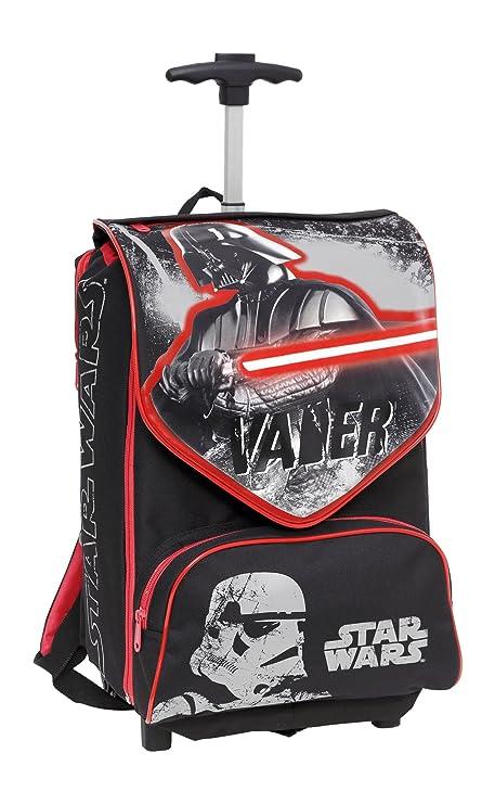 72b0493112 Giochi Preziosi - Star Wars Zaino Trolley Scuola Estensibile con Spada Laser  in Omaggio