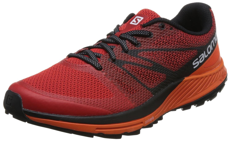 Salomon Sense Escape, Chaussures de Ibis/Black Trail Homme 47 1/3 EU|Rouge (Fiery Red/Scarlet Ibis/Black de 000) 1cf027