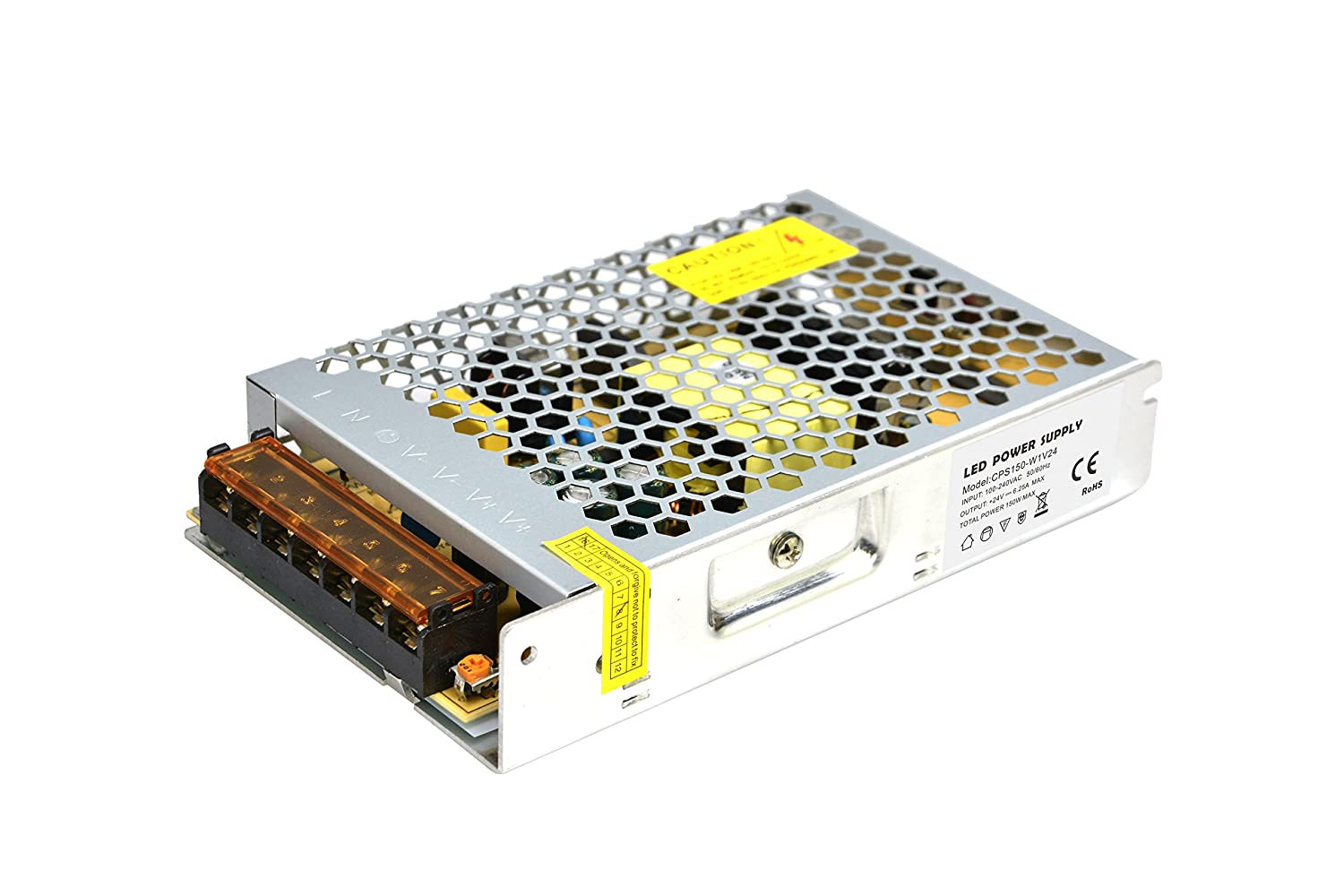 Dapenk CPS Series Indoor Ultra Thin Aluminum Case With Mesh 400W 24V Led Power Supply Unit PSU For LED Bulbs Strip Light CPS400-H1V24