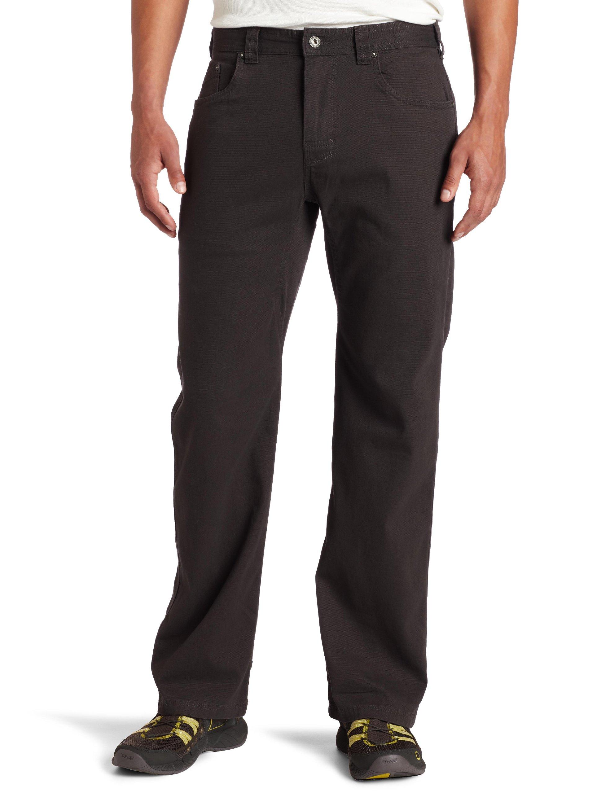 """prAna - Mens Bronson Pant 32"""" Inseam, Charcoal, 34"""