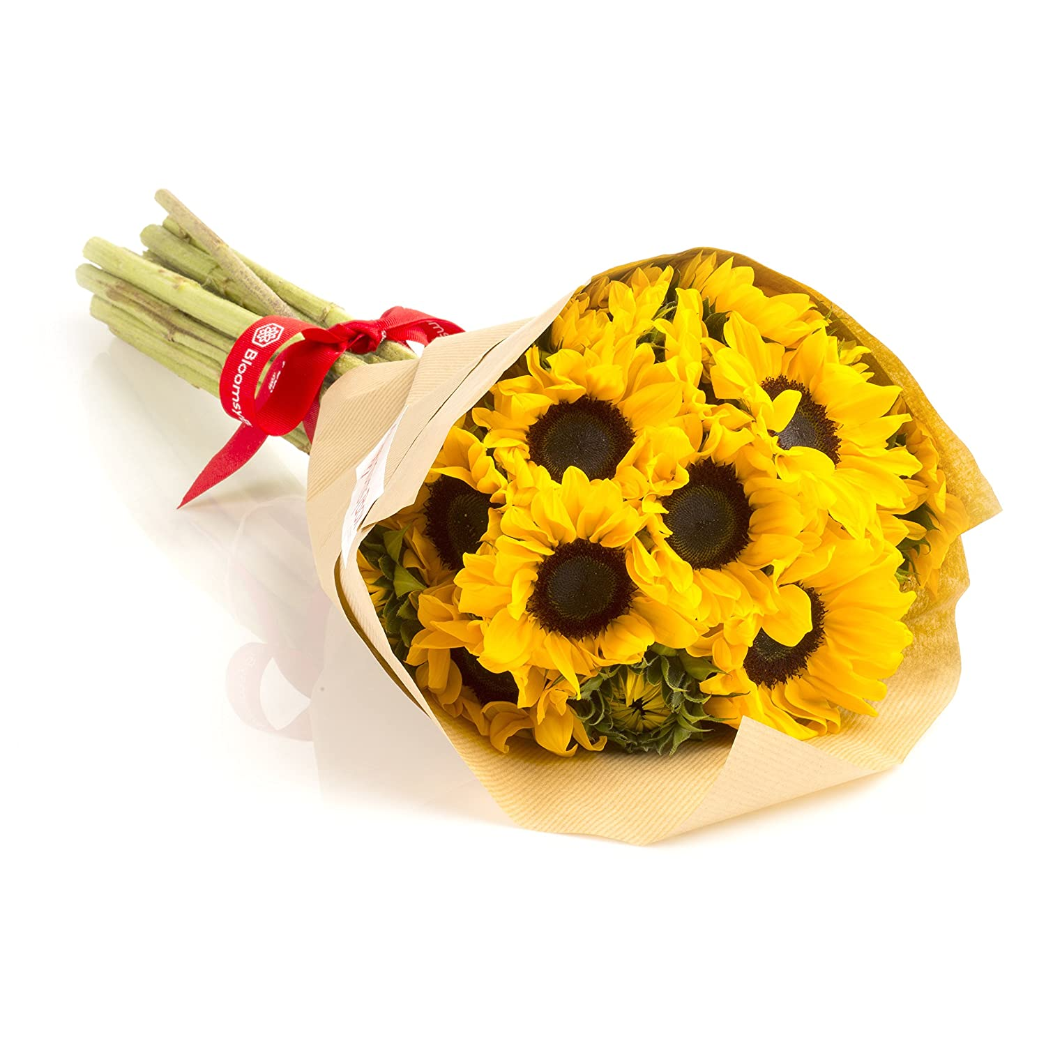 Amazon sunflowers hand tied bouquet no vase everything else dhlflorist Gallery