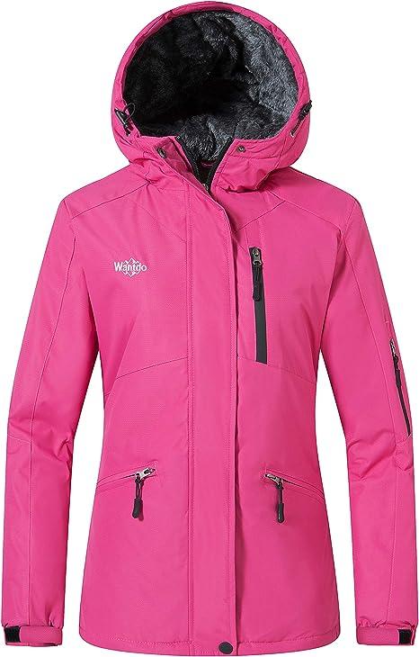 Womens Mountain Waterproof Ski Jacket Windproof Snowboarding Jacket Warm Winter Coat Raincoat