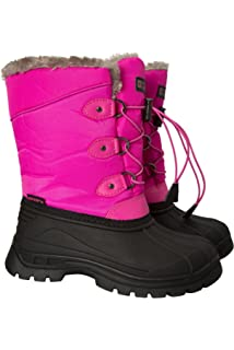 4a9eb85d634 Mountain Warehouse Whistler Kids Snow Boots - Snowproof