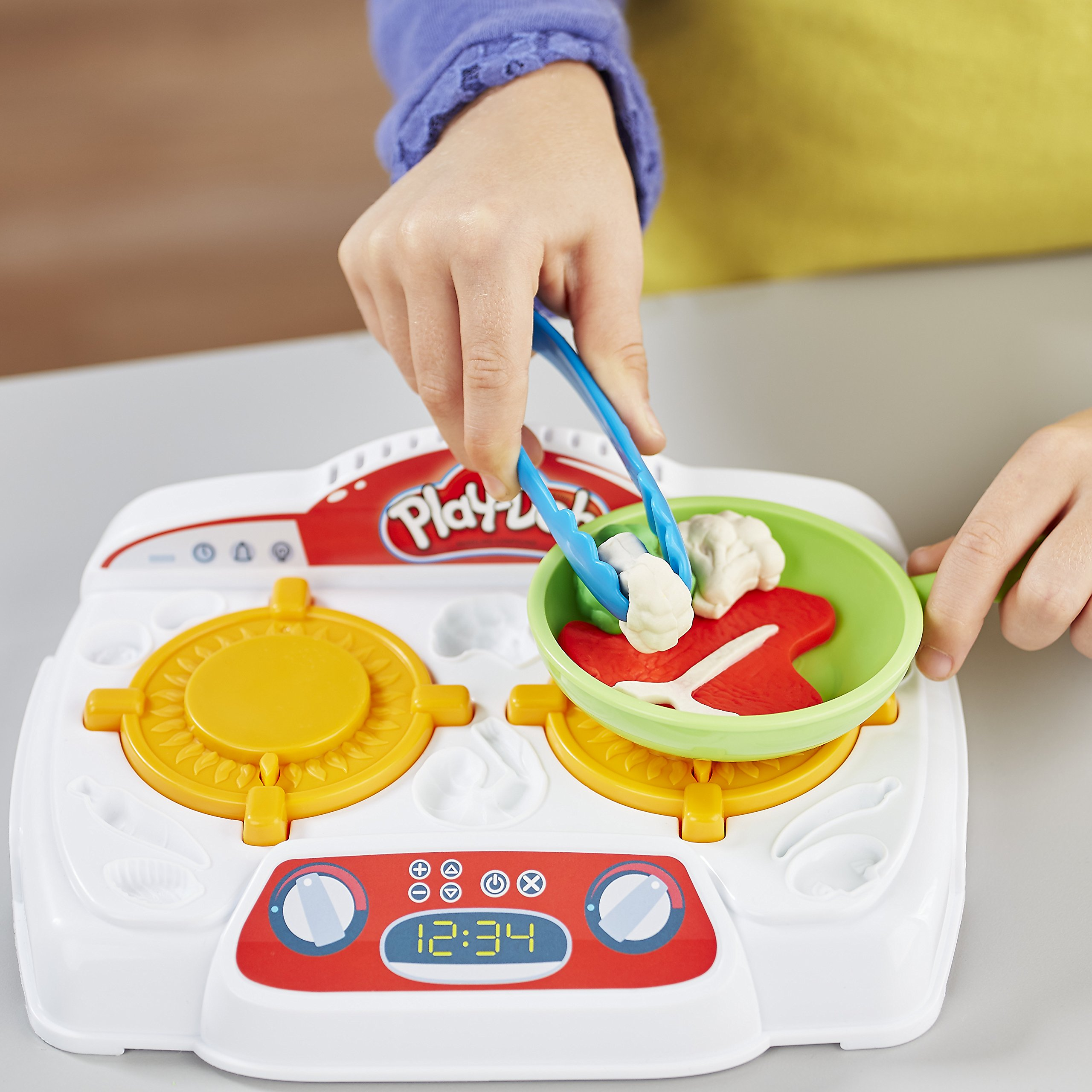 Play-Doh - B9014 - Kitchen Creations Sizzling Stovetop by Play-Doh (Image #6)