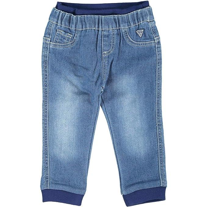 Guess Shorts Di Jeans Bambini Blu Abbigliamento Pantaloni