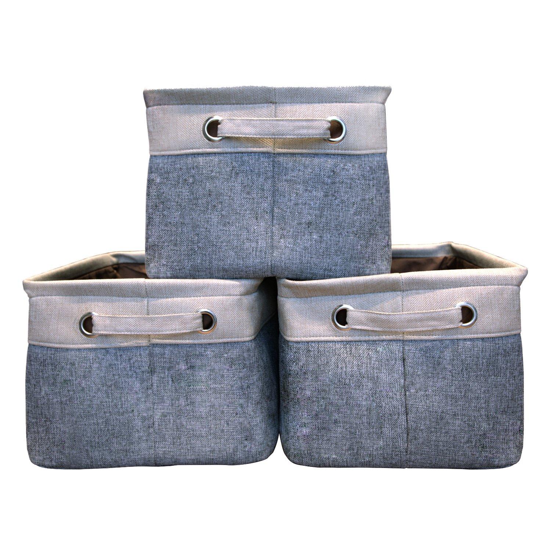 Canvas Fabric Storage Bins