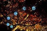 Allsop Home and Garden Aurora Glow Handblown Glass