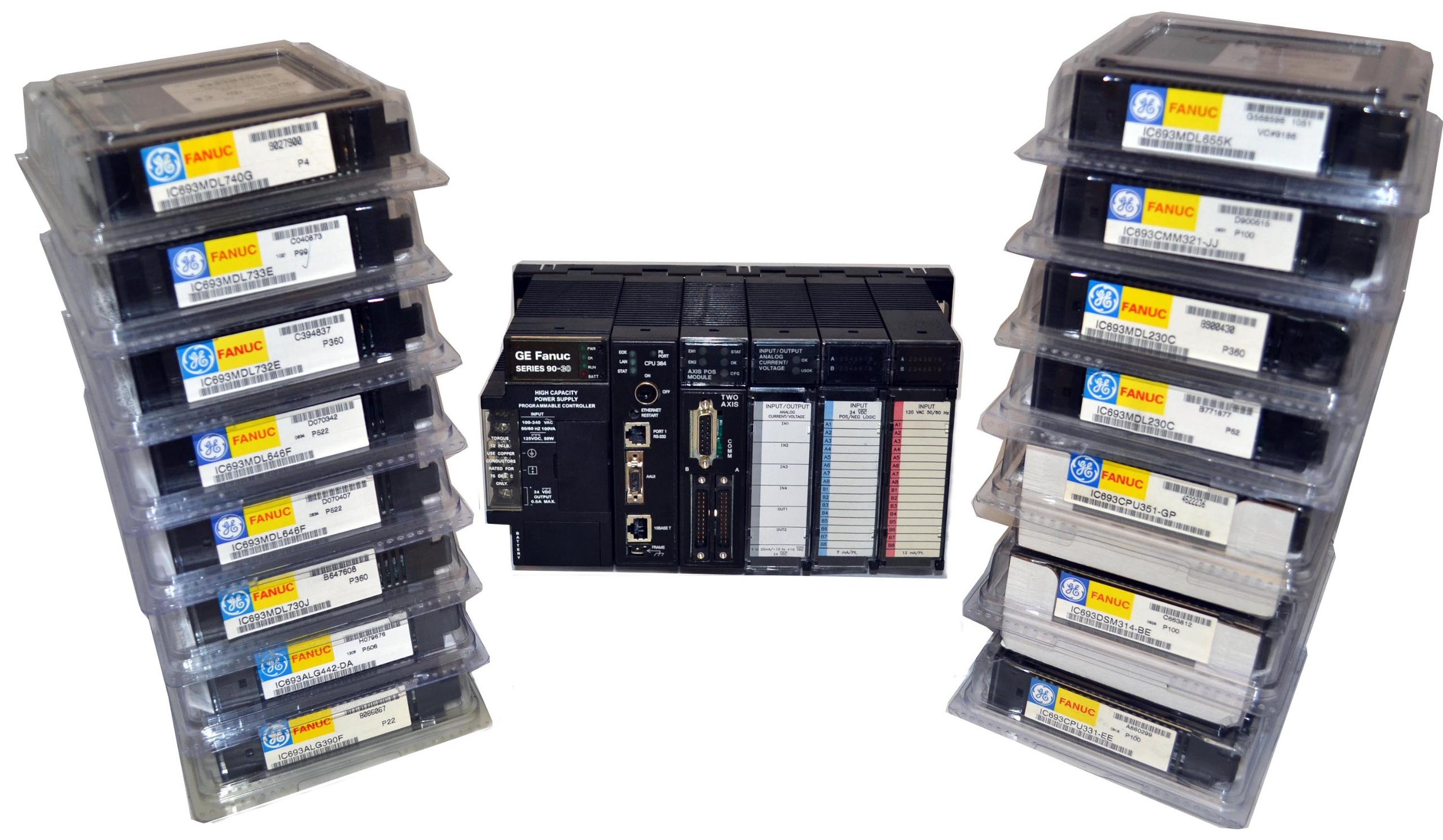 *New* GE Fanuc 90-30 PLC - IC693MDL940 by PDF Supply - Relay Output, 2 Amp (16 Points)