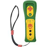 Remote + wii motion nintendo wii original - amarelo e verde bowser
