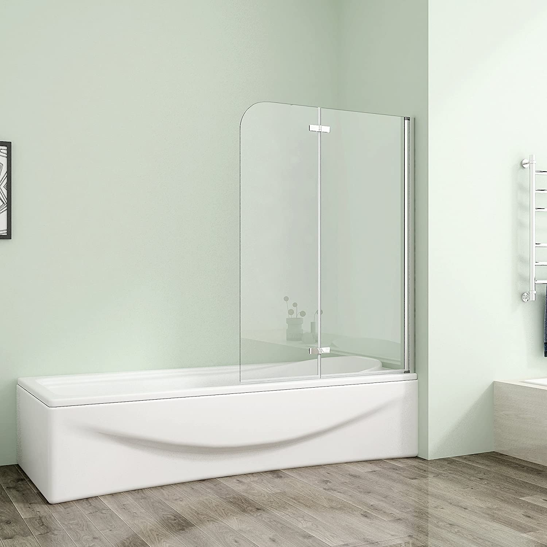120 x 140 cm bañera 2-FTG. Puerta ducha dos puertas alas de giro ...