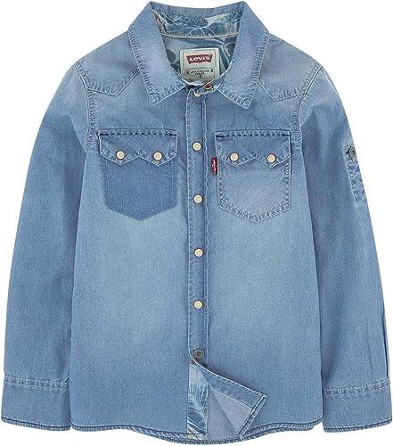 Camisa Vaquera Levis Teo Azul 16A Azul: Amazon.es: Ropa y accesorios