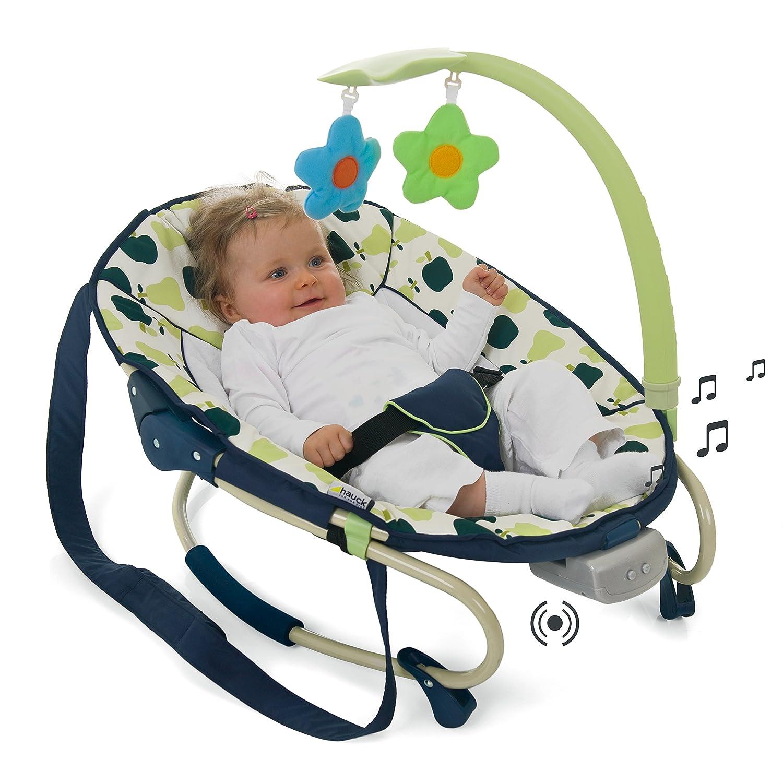 Hauck 634202 Babywippen und schaukeln Leisure e-motion Inklusive Musik und Vibration