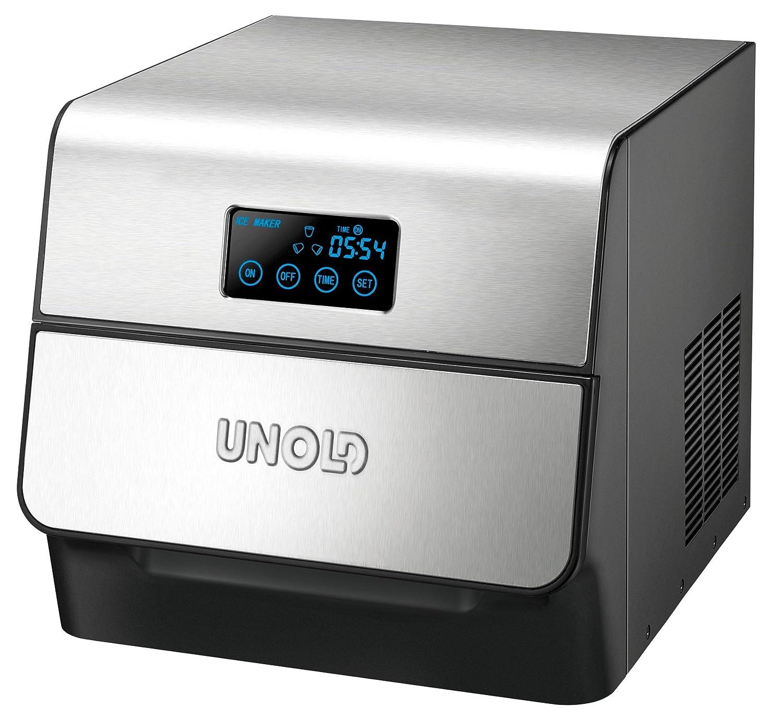 Unold 48955 Eiswurfelbereiter Edel, 1.5 L, 150 W, edelstahl UNOLD AG