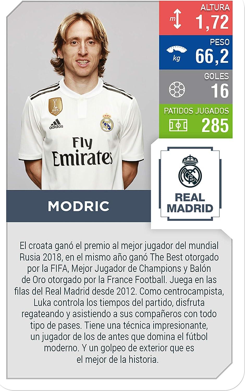 Top Trumps Real Madrid. Juego de Cartas-versión en español, Multi ...