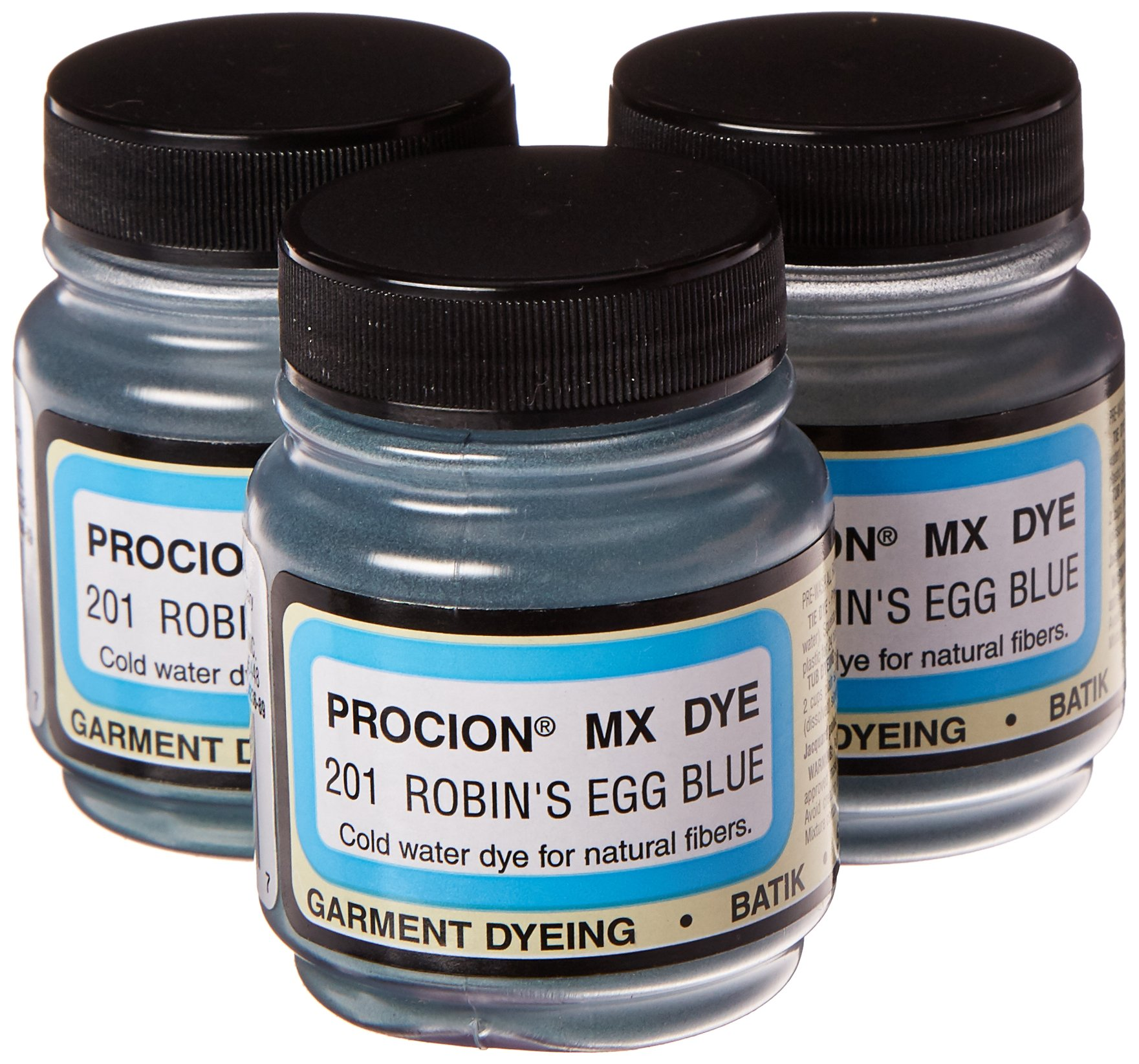 Deco Art Jacquard Procion Mx Dye, 2/3-Ounce, Robins Egg Blue