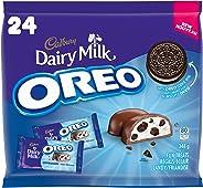 Cadbury Dairy Milk Oreo fun treats, 24 count