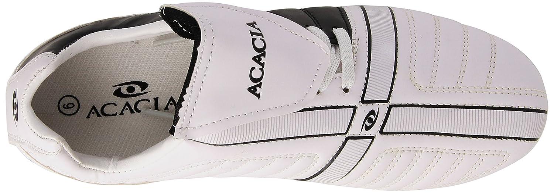 6 ACACIA Madrid Soccer Shoe Black//White