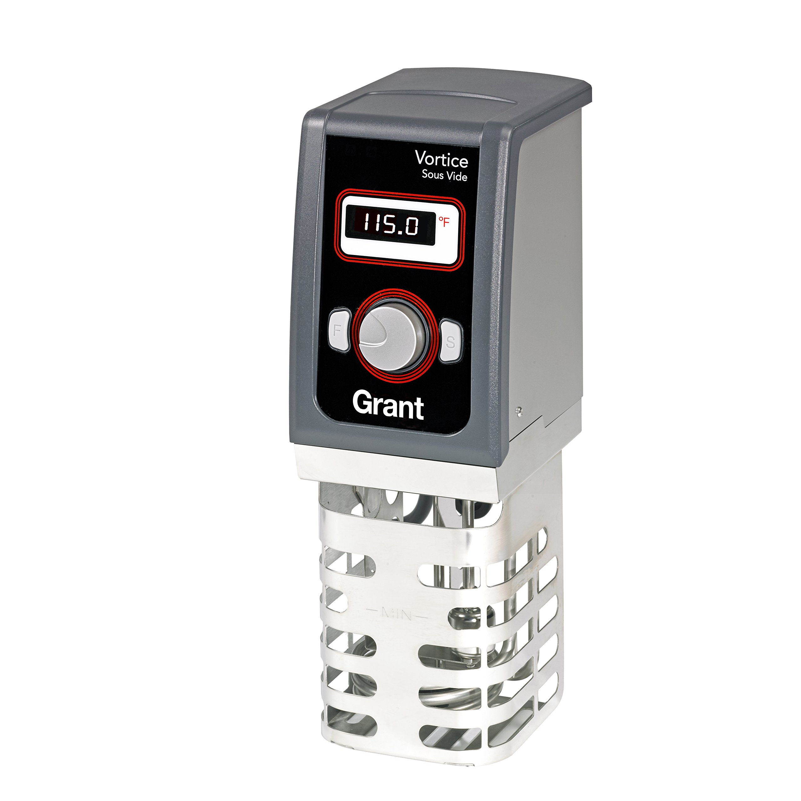 Creative Cuisine by Grant Vortice Sous Vide Immersion Thermal Circulator, Stainless Steel, One Size