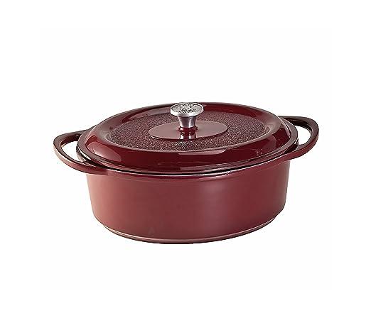Nordic Ware Pro tradiciones fundido esmaltado fuente para horno ...