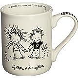 Enesco Children of the Inner Light Mom (From Daughter) Stoneware Gift Mug, 16 oz.