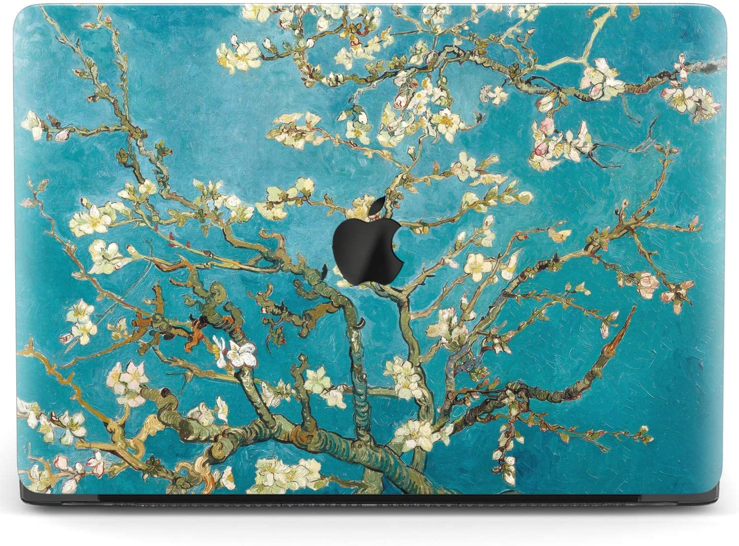 Mertak Hard Case for Apple MacBook Pro 16 Air 13 inch Mac 15 Retina 12 11 2020 2019 2018 2017 Design Branch Vincent Van Gogh Almond Tree in Blossom Cover Laptop Print Plastic Women Shell Floral