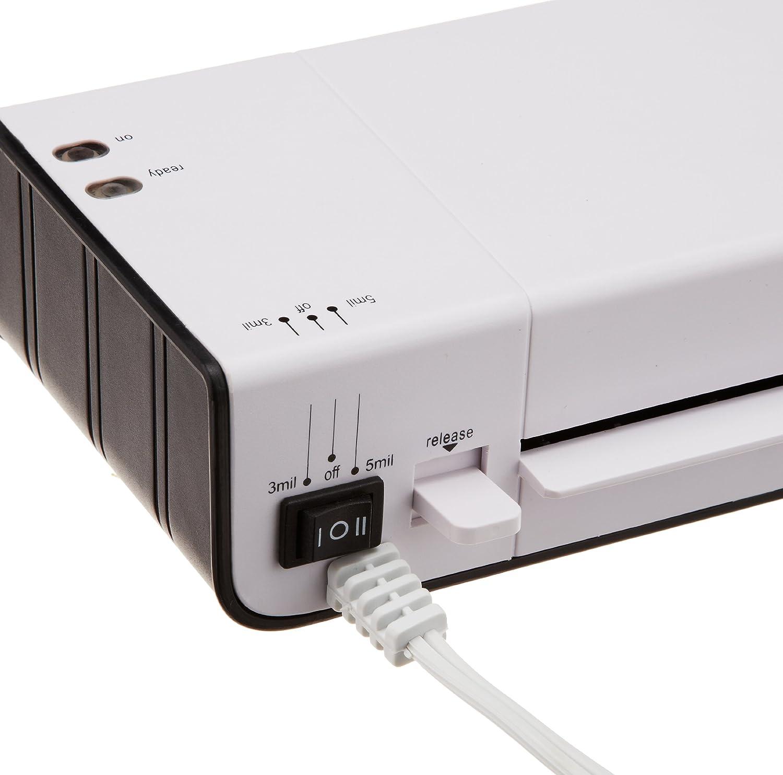 Amazonbasics Thermal Laminator Laminating Machines Battery Fuse Box Melting Office Products