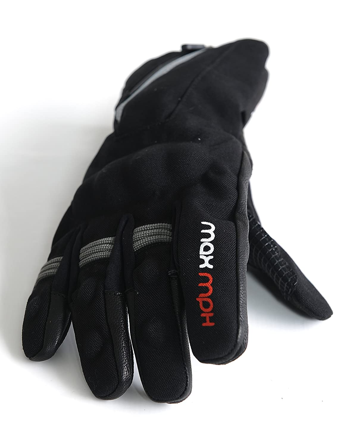 MAX MPH ROADPRO Textile Waterproof Motorcycle Gloves - X-Large