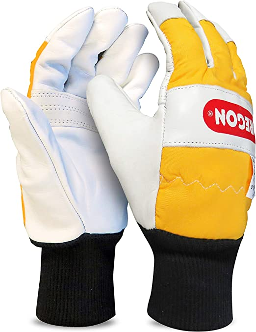 Oregon 295399 les deux mains de protection tronçonneuse Gants
